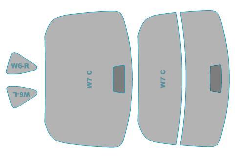 送料無料 カーフィルム カット済み UVカット 紫外線 99%カット トヨタ 86 業務用 使い勝手の良い ZN6型 スモークフィルム 年式H24.4- 発売モデル フィルム 車検対応 ウインドウ