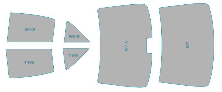 送料無料 カーフィルム カット済み シルフィード メーカー直売 断熱スモーク トヨタ 卓越 アリオン ZRT260型 ZRT265型 スモークフィルム 年式 H24.12-H28.5 ZRT261型 業務用 ウインドウ フィルム 車検対応
