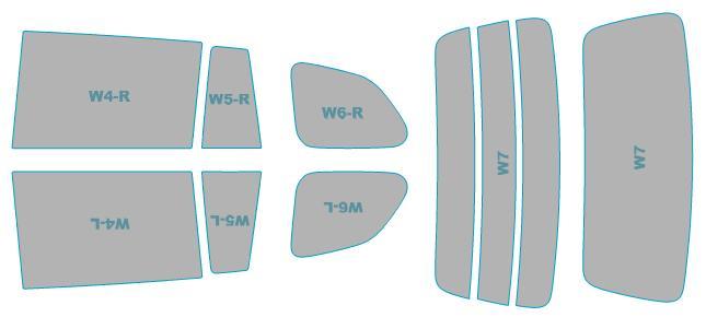 カーフィルム カット済み シルフィード 断熱スモーク トヨタ カローラ フィールダー 【NRE161G型/ZRE162G型/NZE164G型】 年式 H27.4-H29.9 車検対応 業務用 スモークフィルム ウインドウ フィルム