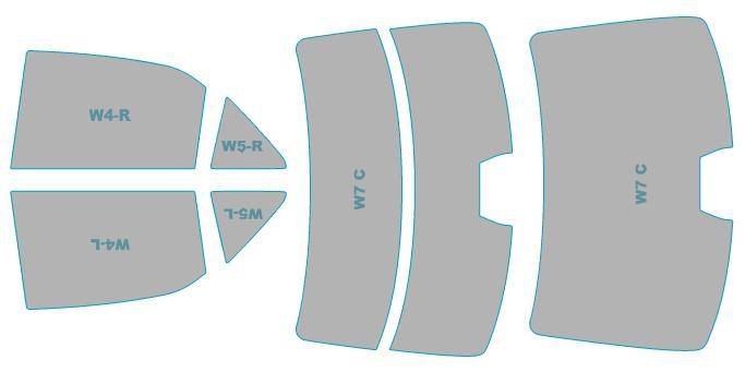 カーフィルム カット済み シルフィード 断熱スモーク トヨタ クラウン アスリート 【GRS210型/GRS211型/GRS214型】 年式 H24.12-H27.9 車検対応 業務用 スモークフィルム ウインドウ フィルム