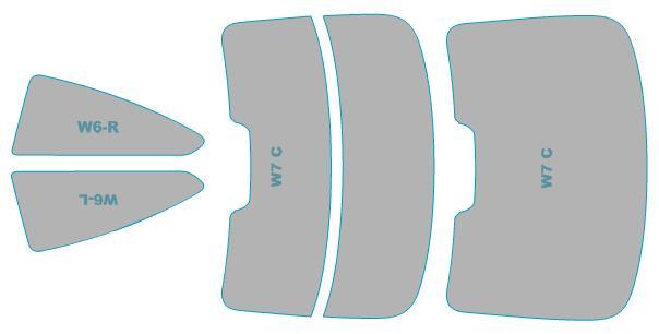 カーフィルム カット済み シルフィード 断熱スモーク BMW M4 Coupe 【F82型(3C30)】 年式 H26.2- 車検対応 業務用 スモークフィルム ウインドウ フィルム