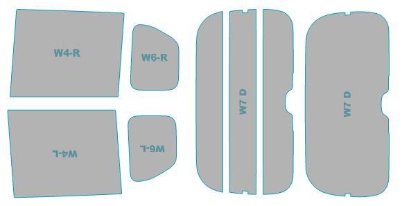 送料無料 カーフィルム カット済み UVカット 紫外線 99%カット ホンダ N-BOX nbox JF3型 マート H29.9- 年式 nボックス ウインドウ 業務用 JF4型 スモークフィルム 車検対応 専門店 フィルム