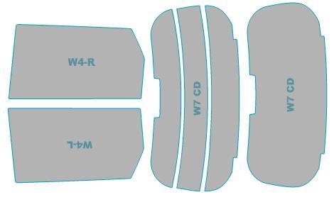 送料無料 カーフィルム カット済み 新作製品 世界最高品質人気 UVカット 紫外線 99%カット ホンダ N-ONE JG#型 フィルム 車検対応 H24.11-H27.6 ウインドウ 年式 送料無料新品 業務用 スモークフィルム