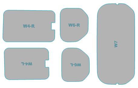 正規品スーパーSALE×店内全品キャンペーン 送料無料 カーフィルム カット済み UVカット 紫外線 99%カット ホンダ N-VAN +STYLE FUN JJ1型 フィルム H30.7- ウインドウ 業務用 JJ2型 スモークフィルム 車検対応 ショッピング 年式