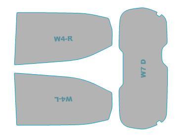カーフィルム カット済み ウインコス 断熱スモーク 日産 デイズ 【BM44W型/BM45W型/BM47W型/BM48W型】 年式 H31.3- 車検対応 業務用 スモークフィルム ウインドウ フィルム