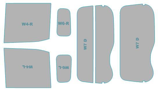 カーフィルム カット済み シルフィード 断熱スモーク 日産 デイズ ルークス 【B21A型】 年式 H26.2-H28.11 車検対応 業務用 スモークフィルム ウインドウ フィルム