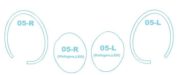 ヘッドライトプロテクションフィルム ミニ 3 Door 【F56型】 年式 H26.4-H30.4 用【車用品・バイク用品 カー用品 ライト・ランプ ヘッドライト】