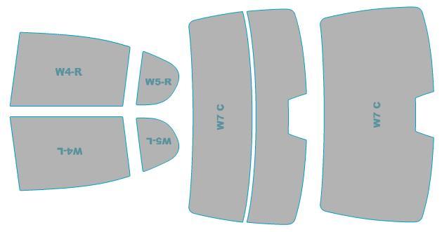 カーフィルム カット済み シルフィード 断熱スモーク レクサス GS 【AWL10型/GWL10型】 年式 H24.1-H27.10 車検対応 業務用 スモークフィルム ウインドウ フィルム
