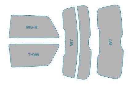 送料無料 カーフィルム カット済み シルフィード 断熱スモーク ミニ 3 《週末限定タイムセール》 Door 年式 ウインドウ H26.4-H30.4 期間限定お試し価格 スモークフィルム 車検対応 フィルム 業務用 F56型