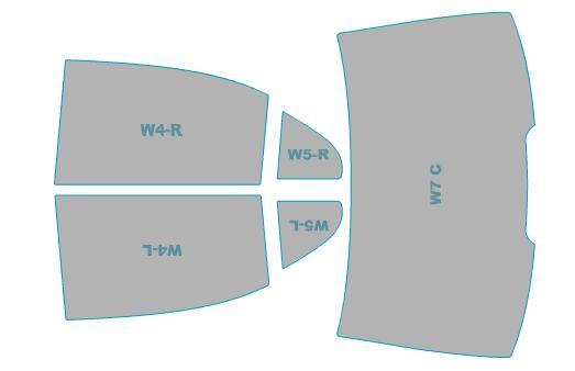 カーフィルム カット済み シルフィード 断熱スモーク メルセデス・ベンツ S-Class Sedan 【221179型】 年式 H17.10-H21.8 車検対応 業務用 スモークフィルム ウインドウ フィルム
