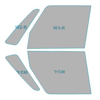 送料無料 スパッタゴールド 運転席 助手席 カーフィルム カット済み 日産 デイズ 年中無休 車用品 初回限定 アクセサリー B21A型 ルークス 年式 H26.2-H28.11 バイク用品 日除け用品