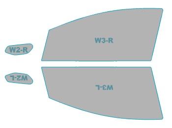 カーフィルム カット済み 運転席 助手席 シルフィード FGR-500 日産 ノート 年式 H24.9-H25.11 車用品 バイク用品 車用品 アクセサリー 日除け用品 カーフィルム 赤外線カット 断熱フィルム
