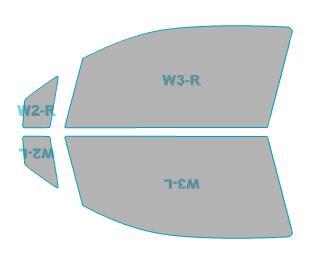 カーフィルム カット済み 運転席 助手席 シルフィード FGR-500 スズキ アルト エコ 【HA35S型】 年式 H25.3-H26.11 車用品 バイク用品 車用品 アクセサリー 日除け用品 カーフィルム 赤外線カット 断熱フィルム