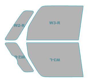 カーフィルム カット済み 運転席 助手席 シルフィード FGR-500 スズキ スペーシア ギア 【MK53S型】 年式 H30.12- 車用品 バイク用品 車用品 アクセサリー 日除け用品 カーフィルム 赤外線カット 断熱フィルム