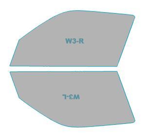ブランド激安セール会場 送料無料 無料 スパッタゴールド 運転席 助手席 カーフィルム カット済み トヨタ ハイエース アクセサリー 車用品 日除け用品 H22.7-H25.11 5ドア バイク用品 年式
