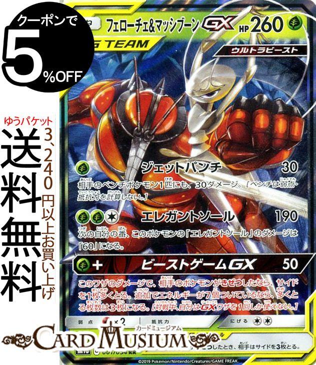 Pokemon card game fellow Che & マッシブーン GX RR SM9b full metal wall sun & moon  Pokemon | ポケモンカードポケモンカードポケカポケットモンスター reinforcement expansion packs sun and