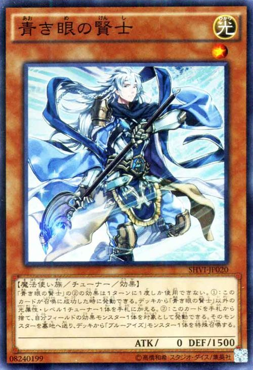 푸른 눈 賢士 슈퍼 레어 블루 아이즈 SHVI-JP020 YuGiOh!
