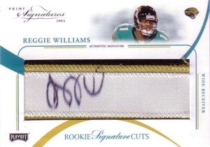 レジー・ウィリアムス Reggie Williams 2004 Playoff Prime Sigatures Rookie Autograph 99枚限定!