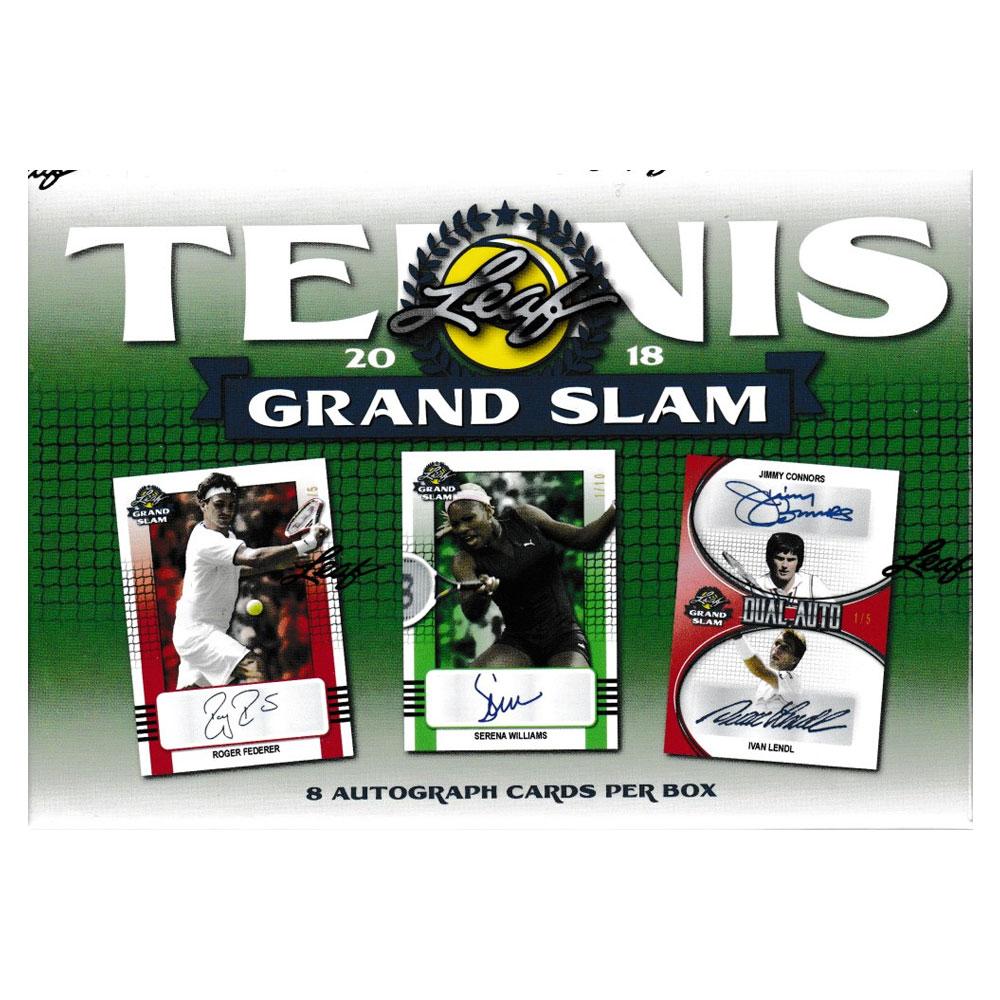 テニスカード 2018 Leaf Grand Slam Tennis ボックス(Box) 10/15入荷!