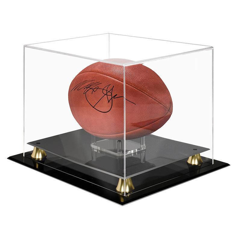 ウルトラプロ 送料無料新品 Ultra Pro 与え フットボールケース ライザー Football #84952 Display Riser