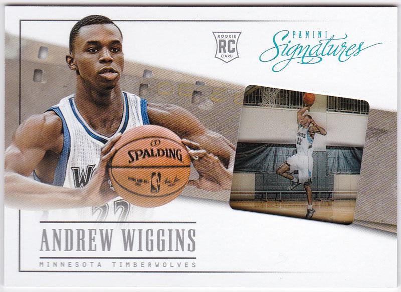 アンドリュー・ウィギンス 2013/14 Panini Signatures '14 Draft X-Change Andrew Wiggins