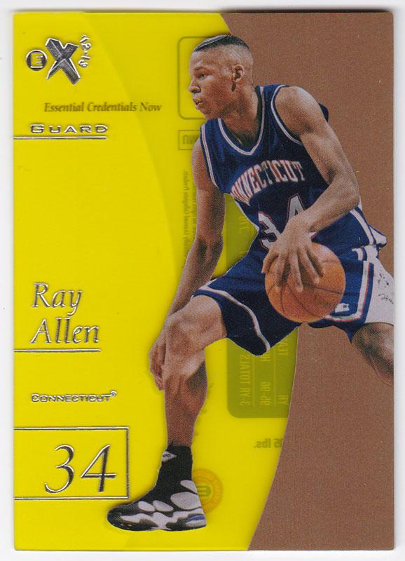 レイ・アレン 2012/13 UD Fleer Retro 97-98 EX 2001 Essential Credentials Now 13/26 Ray Allen