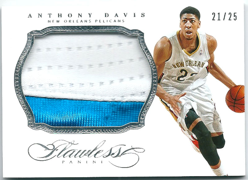アンソニー・デイビス Anthony Davis 2013-14 Panini Flawless Patches 21/25