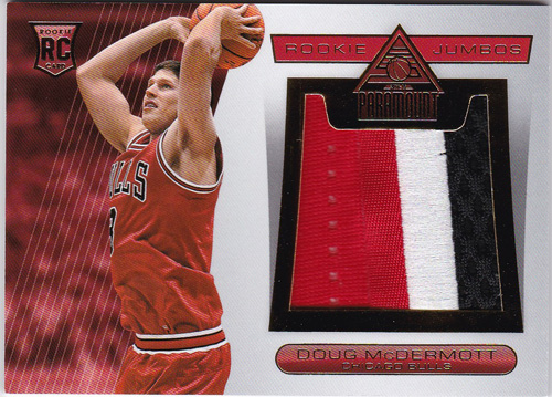 ダグ・マクダーモット NBA 2014-15 Paramount Rookie Jumbo Patch 2/25 Doug McDermott