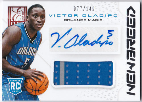 ビクター・オラディポ 2013/14 Panini Elite New Breed Auto Jersey 077/149 Victor Oladipo