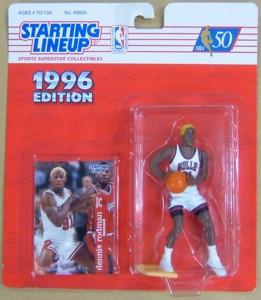 NBA ケナー・フィギュア 1996デニス・ロドマン / Dennis Rodman シカゴ・ブルズ/ゴールドヘアー