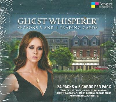 【ゴースト~天国からのささやき】シーズン 3 & 4 トレーディングカード セット / Ghost Whiserer Season 3&4 Trading Cards
