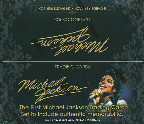 マイケル ジャクソン Panini Michael Jackson トレーディングカード ボックス