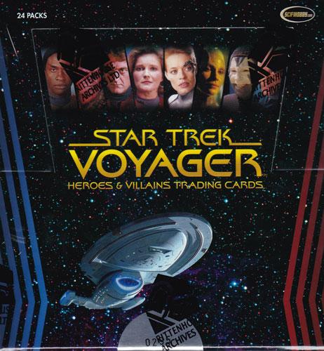 スタートレック Rittenhouse 2015 Star Trek Voyager :Heroes & Villains Trading Cards