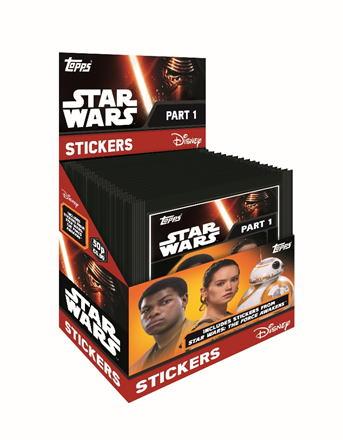 スター・ウォーズ/フォースの覚醒 2016 Topps STAR WARS :The Force Awakens Stickers ステッカー 6/3再入荷!