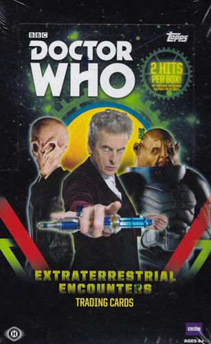 ドクター・フー 2016 Topps Doctor Who : Extraterrestrial Encounters トレーディングカード ボックス(Box) 送料無料、11/9入荷!