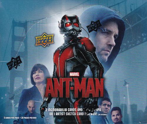 アントマン トレーディングカード ボックス / 2015 Upper Deck Marvel Ant Man Trading Cards (Box) 送料無料!