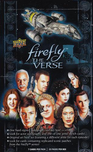 (セール)2015 Upper Deck Firefly : The Verse トレーディングカード ボックス(Box)!
