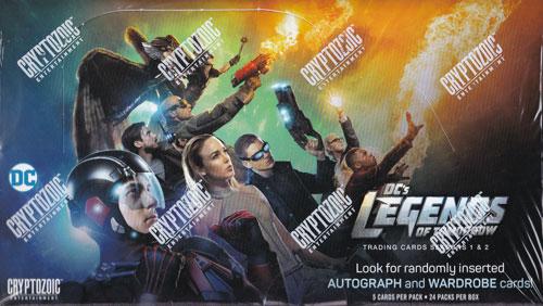 レジェンド・オブ・トゥモロー 2018 Cryptozoic DC's Legends of Tomorrow Trading Cards Season 1&2 トレーディングカード 5/11入荷!