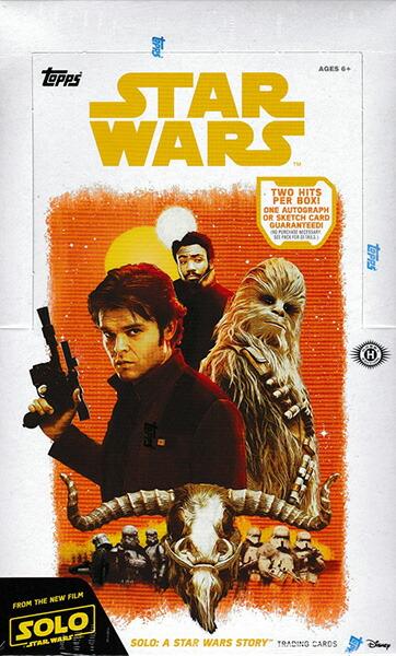 (セール) ハン・ソロ/スター・ウォーズ・ストーリー 2018 Topps Solo : A Star Wars Story トレーディングカード