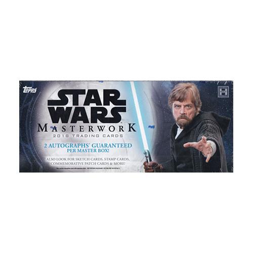 スター・ウォーズ 2018 Topps Star Wars Masterwork トレーディングカード 9/12入荷!