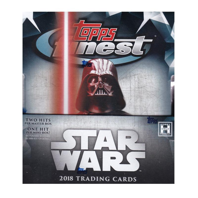 スター・ウォーズ 2018 Topps Star Wars Finest トレーディングカード 11/28入荷!