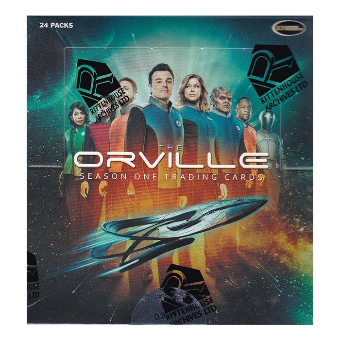 宇宙探査艦オーヴィル 2019 Rittenhouse The Orville Season One Trading Cards 4/24入荷!