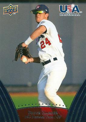 ブライス・ハーパー MLBカード Bryce Harper 2008/09 UD USA Baseball レギュラー