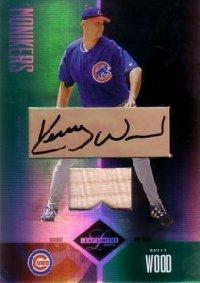 Kerry Wood 2004 Leaf Limited Monikers Bat 25枚限定!