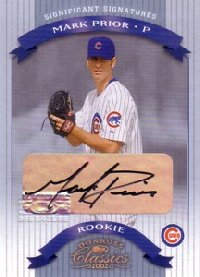 Mark Prior 2002 Donruss Classics Significant Signatures 250枚限定!