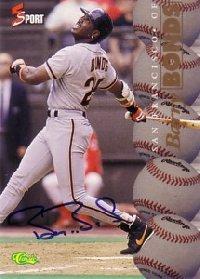 Barry Bonds 1995 Classic Five Sport Autographs 630枚限定!