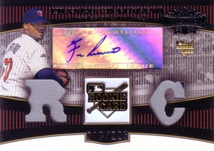 Francisco Liriano 2006 Topps Triple Threads Rookie Jersey Autograph 225枚限定!