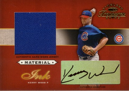 Kerry Wood 2003 Timeless Treasures Material Ink 50枚限定!