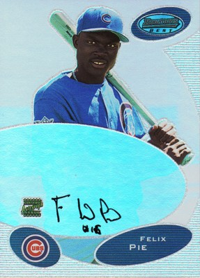 フェリックス・ピーエイ Felix Pie 2003 Bowman's Best Autographs