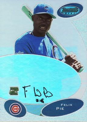 フェリックス・ピーエイ Felix Pie 2003 Bowman's Best Autographs